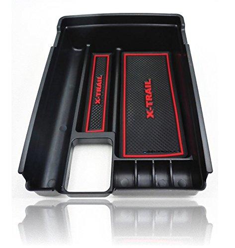 (SSKPRODUCT)日産 X-TRAIL エクストレイル T32型 NT32型 対応 センターコンソール コンソールトレイ(赤...
