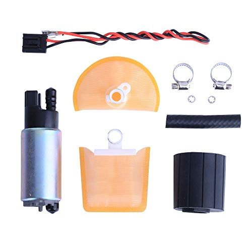 LAMDA LDP341 255 LPH High Flow High Performance Universal Electric Fuel Pump with Install Kit
