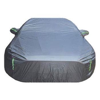 AFEO Car Cover Compatible with Rolls-Royce Cullinan Wraith Sweptail Ghost Dawn Phantom Waterproof Windproof Sunscreen indoor Outdoor Full Cover (Color : Silver, Size : Cullinan)
