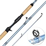 KastKing Estuary Inshore Saltwater Fishing Rods, Casting Rod 7'6' - Medium Heavy - Fast