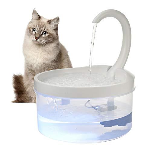 Katzen Trinkbrunnen Mit Filter Automatischer Wasserspender Haustier USB Wasser...
