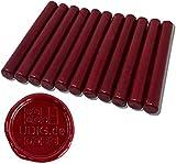 Siegelwachs 11 mm Bordeauxrot für Heißklebepistole 10 cm 100 g, weinrot
