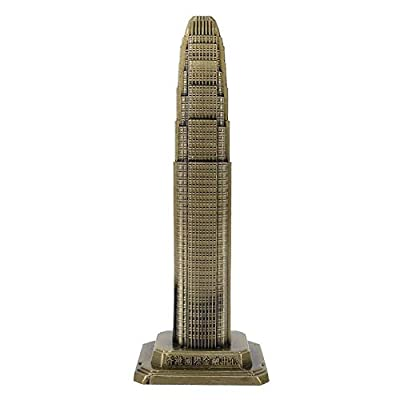 ●FEATURES: The Hong Kong Financial International Center model is made of high-quality wrought iron material, which is exquisite and smooth, rich in metallic luster and durable. ●UNIQUE PROCESS: The electroplating process will not fade, the structure ...