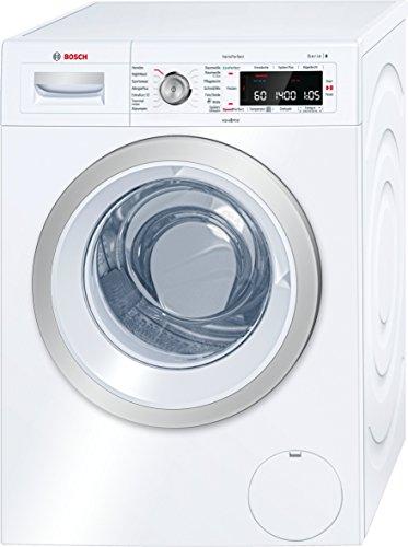 Bosch WAW28570 Serie 8 Waschmaschine Frontlader/ A+++ / 196 kWh/Jahr / 1400 UpM / 8 kg / weiß / Fleckenautomatik / EcoSilence Drive