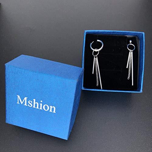 Mshion Bangtan Boy Album BTS SUGA Stud Punk Earrings for Women Men