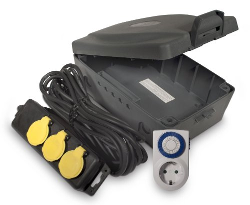 Masterplug Wettergeschütze Safebox mit Kabeldurchführung WBXIP38TS-MP