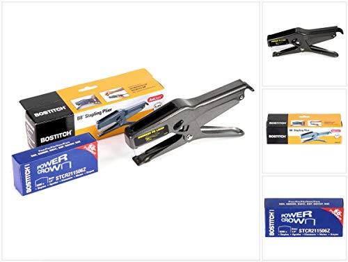 BOSTITCH Pro B8Cucitrice a pinza ad alte prestazioni Tacker stcr2115+ 5.000PZ. Punti metallici 6mm...