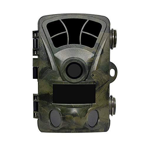 BJYG Telecamera di Caccia, Telecamera naturalistica con 16MP 1080P, TFT 2.4 ', IP56, Time Lapse, H885, Wildlife Fauna Survey/Farm/Warehouse