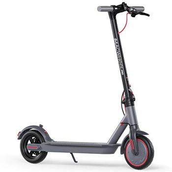 Macwheel MX PRO Electric Scooter, Up to 25miles Long Range, Max Speed 15.5mph, 350W Brushless Hub Motor, 8.5 inches Non-Pneumatic Tires, Electric Scooter for Adults