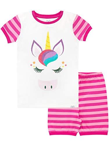 Harry Bear Pijama Corta para niñas Unicornio Rosa 10-11 Años