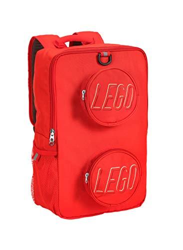 LEGO Unisex - Erwachsene Brick Rucksack, rot (Rot) - DP0960-300B