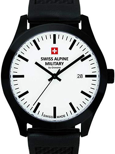 Swiss Alpine Military by Grovana Herren Armbanduhr schwarz 7055-1873SAM