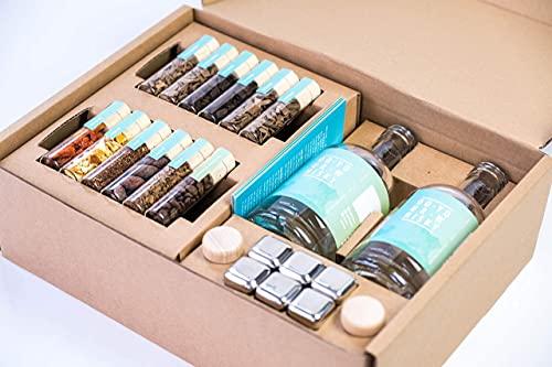 DO YOUR WHISKY | DIY Infusion Set für zu Hause & als Geschenk | Whisky-Geschmack selber-machen | 12...