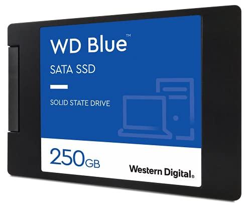 Western Digital SSD 250GB WD Blue PC PS4 2.5インチ 内蔵SSD WDS250G2B0A-EC 【国内正規代理店品】