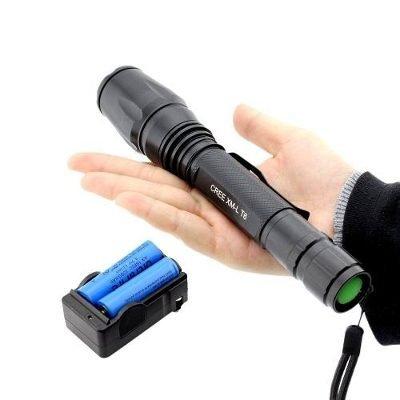 Lanterna Tática Led T6 Police 2 Baterias