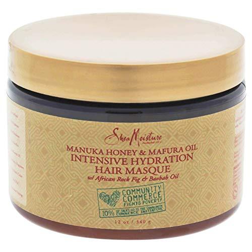 Sheamoisture Manuka Honey &Mafura Oil Intensive Hydration Treatment Masque, 12 Oz