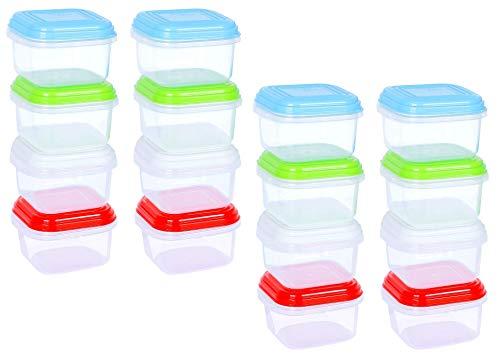 ARSUK Set di contenitori per ermetico alimenti contenitori di plastica riutilizzabili con coperchi...