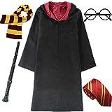 IWFREE Enfants Adultes Déguisement Uniforme Outfit Set Baguette Cravate...