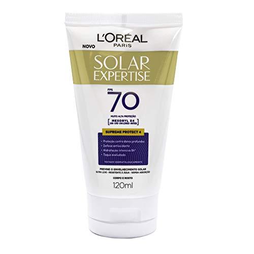 Protetor Solar Expertise FPS 70, L'Oréal Paris, 120ml