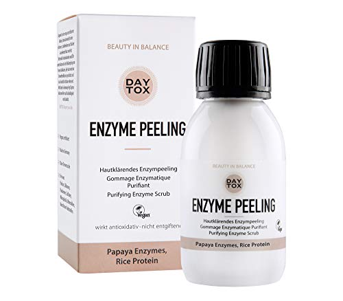 DAYTOX Enzyme Peeling - Exfoliante Enzimático Clarificante para el Rostro - Vegano - Sin...