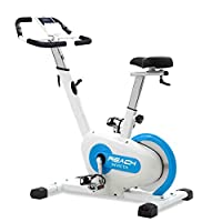 In-Box Contents: 1 x Reach Invicta Cross Trainer, 1 x Installation Manual, 1 x Tool Kit SPIN BIKE + UPRIGHT BIKE: Engineered for speed and stability, this flywheel will create more momentum for longer periods of time, thus making Reach Invicta Spin B...
