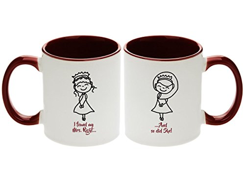 Lesbian Wedding Gift - I found My Mrs. Right. And so did She...