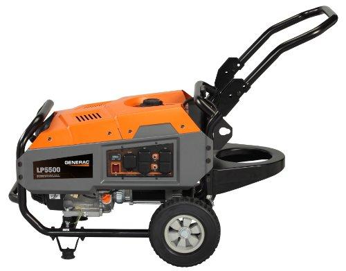Generac 6001, 5500 Running Watts/6875 Starting Watts, Propane Powered...