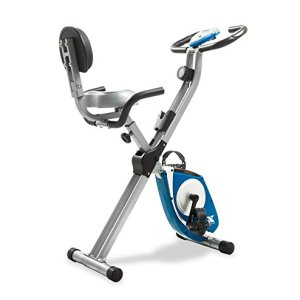 XTERRA Fitness FB350 Folding Exercise Bike, Silver 14