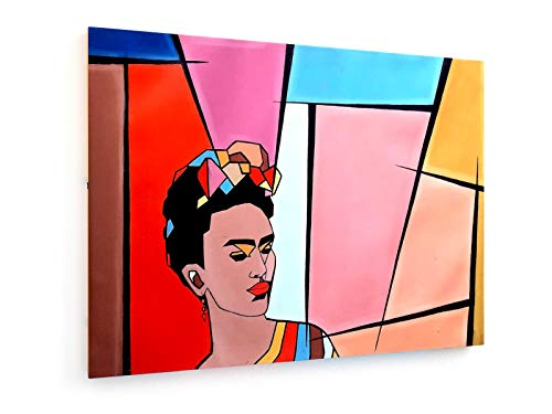 weewado Alinne França - Frida Kahlo - 80x60 cm - Impresion en Lienzo - Muro de Arte - Canvas, Cuadro, Poster - People