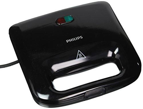 Philips HD 2393 820-Watt Sandwich Maker (Black)