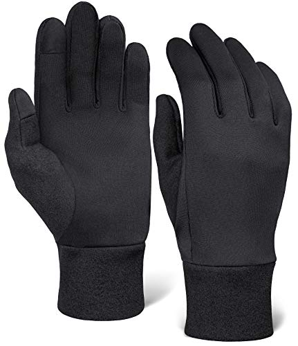 IGN1TE Running Gloves for Men & Women - Thermal Winter Glove Liners for Cycling,