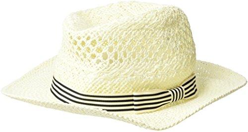 BOSS Damen Finne2 Trilby, Weiß (Open White 115), One Size
