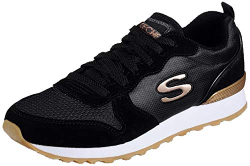 Skechers OG 85-Goldn Gurl - Zapatillas deportivas, color Negro, talla 39 EU