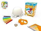 kibi Mr Plinton 3D - Muñeco Creatividad para Dibujar, Pintar y Colorear. App y Juegos 3D (Neox Kidz)