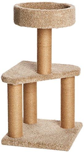 Amazon Basics Medium Cat Condo Activity Tree Tower...