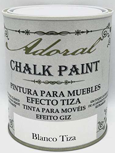 Adoral - Pintura Chalk Paint Pintura a la Tiza (Blanco Tiza)