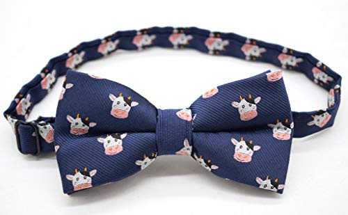 Carahere Boys Handmade Adjustable Pre-Tied Pattern Bow Ties For Kids Toddler Bow Ties