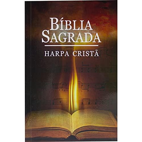 Bíblia Sagrada Letra Grande com Harpa Cristã - Capa ilustrada: Almeida Revista e Corrigida (ARC)