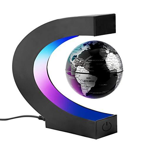 Surplex Créatif Globe Terrestre Lumineux Flottant Magnétique Levitation...