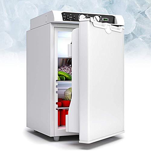 Bluefin 3-Wege Mini Absorber-Kühlschrank mit Gefrierfach 43 Liter   60 Liter   AC   DC   Gas & Strom   12v   230v   LPG   Essen, Getränke, Wein