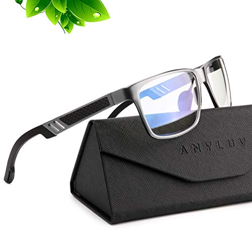 ANYLUV Blue Light Blocking Glasses Women Men - Computer Gaming...