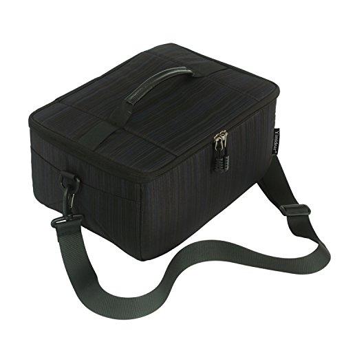 Yimidear カメラ 保護 インナーケース ソフト クッション ボックス カメラバッグ おしゃれ 3way カメラインナーバッグ