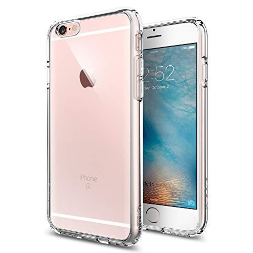 iPhone6S ケース, Spigen® 背面 クリア ウルトラ・ハイブリッド Apple アイフォン6s iPhone 6S / iPhone6 ケース (国内正規品) (2015) (iPhone6S / iPhone6, クリスタル・クリア【SGP11598】)