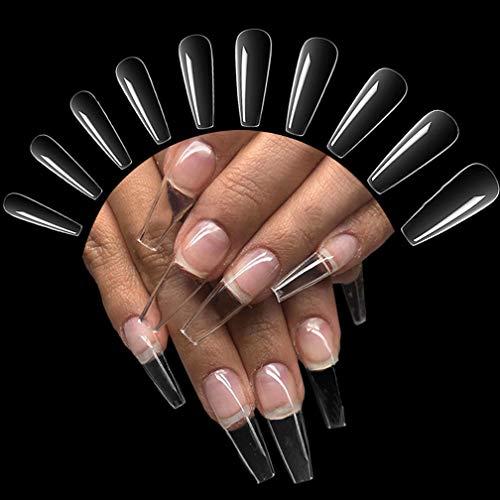 500 Pièces Faux Ongles Acrylique...