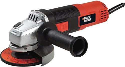 Black+Decker G720-BR Esmerilhadeira 127V - 820W, 11.000 RPM, Laranja e Preto