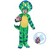 Spooktacular Creations Triceratops Costume (3T) Green