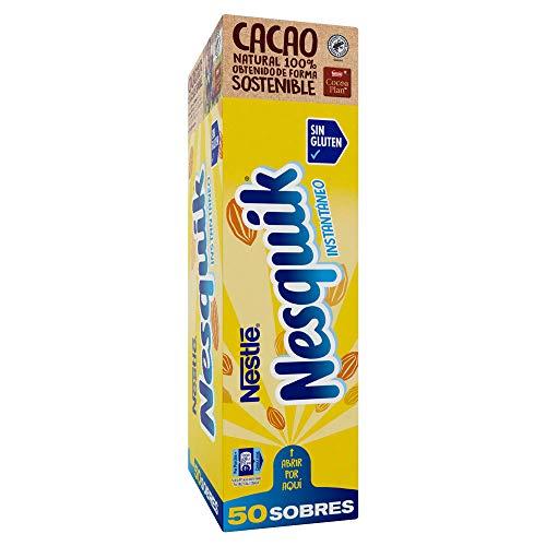 Nesquik cacao soluble instantáneo - 1 paquete x 50 sobres d