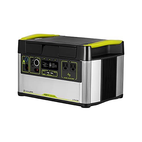 Goal Zero Yeti 1000 Core Portable Power Station, Solar-Charging Station