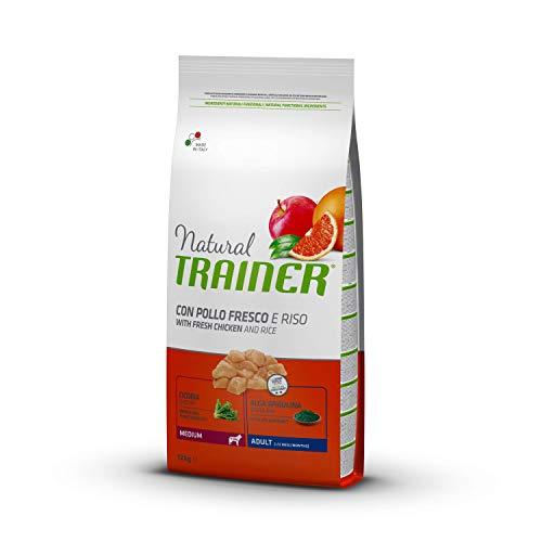 Trainer Natural Cibo per Cani Medium Adult Pollo&Riso 12kg
