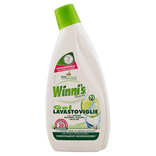 Winni's Naturel - Gel Lavastoviglie - 3 flaconi da 750 ml [2250 ml]